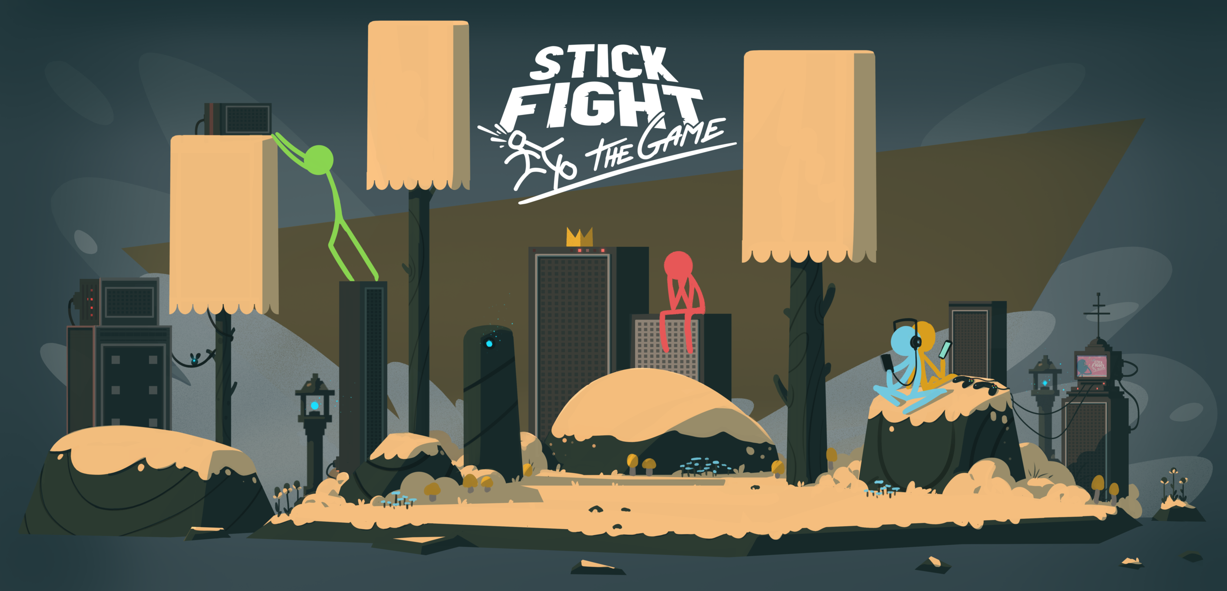 Stick Fight The Game Download PC Game Free Full Version