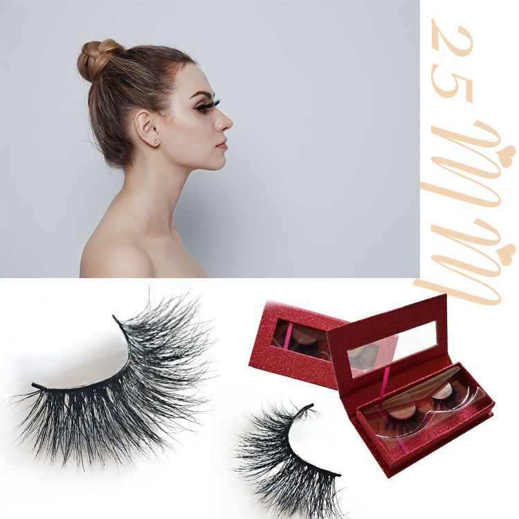 a4e12436e76 ZM Single Tip Long Lifetime Sample Available U.S. Office shipping Cluster  3D individual mink eyelash #