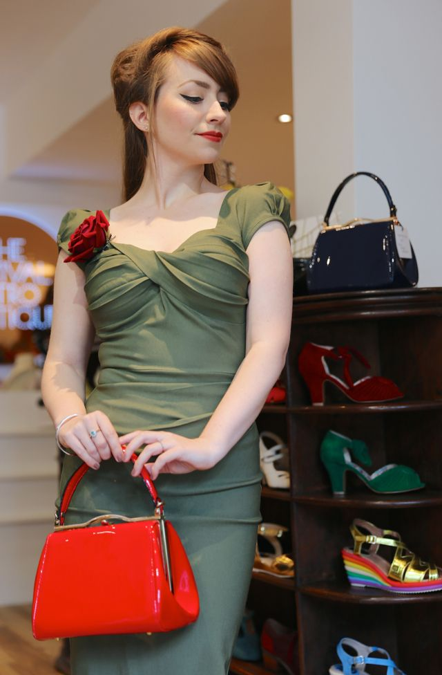 The Stop Staring Billion Dollar Baby Dress in green