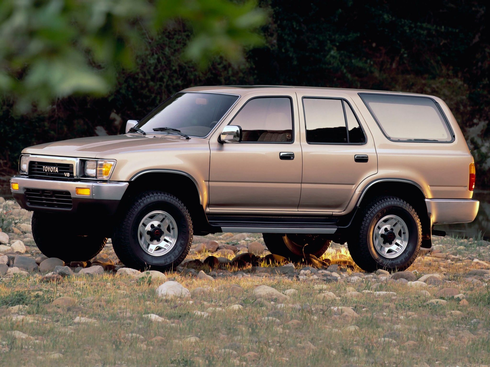 The 1990 Toyota 4Runner is actually the second generation of the vehicle…