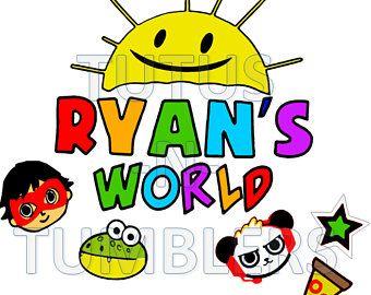 Ryans World Toy Review You Tube Kids Svg Happy Birthday Etsy Ryan Toys Panda Birthday Party Boy Birthday Party Themes