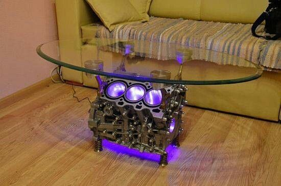 Now Thats Badass With Images Engine Coffee Table Automotive