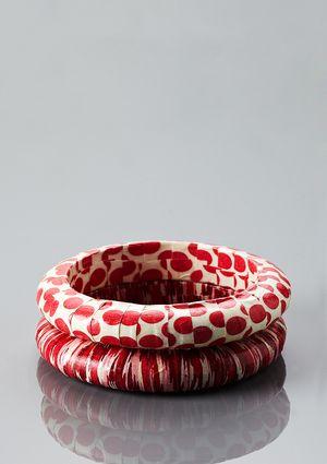 LENORA DAME Decoupage Bracelet Set