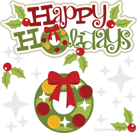 Congratulations Clipart Holiday Transparent Happy Holidays Clipart Png Image With Transparent Background Png Free Png Images In 2020 Holiday Clipart Military Christmas Cards Happy Holidays Pictures