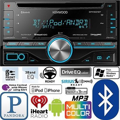 Kenwood double din cd player car radio install mount kit