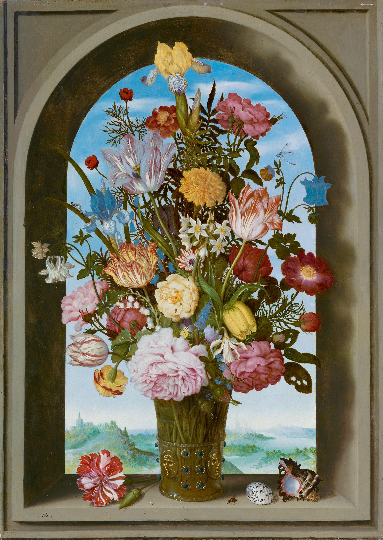 Ambrosius bosschaert the elder vase of flowers in a window c ambrosius bosschaert the elder vase of flowers in a window c 1618 reviewsmspy
