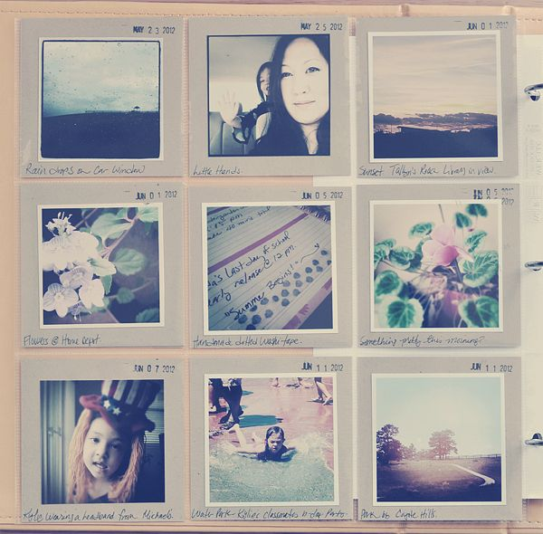 Project Life: Binders And Instagram Photos