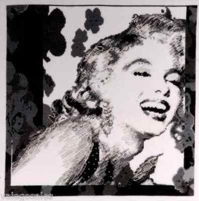 Design Works Counted #crossstitch  Marilyn Monroe - Starlet #DIY #crafts #decor #needlework #crossstitching #gift #madeinusa