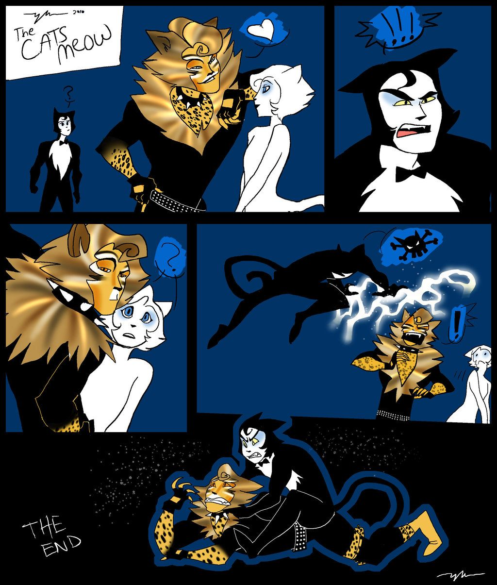 The Rum Tum Tugger is by on