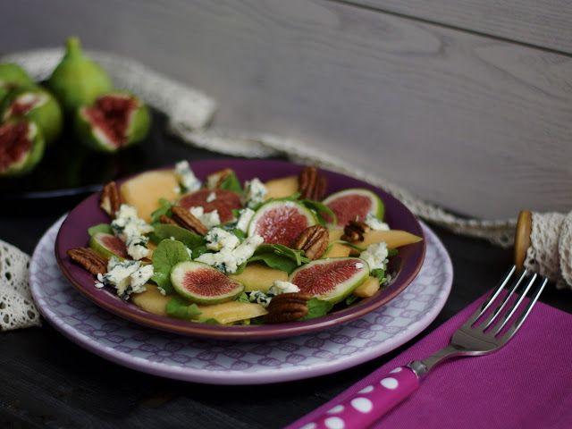 Innamorarsi in cucina: Insalata di fichi, melone e Gorgonzola