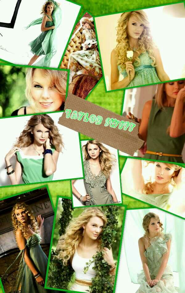 Taylor Swift In My Favorite Color Green Taylor Alison Swift Taylor Swift Celebs
