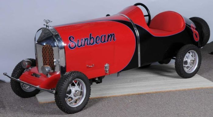 sunbeam vintage pedal car voiture enfants pedal car pinterest voiture enfant voitures et. Black Bedroom Furniture Sets. Home Design Ideas