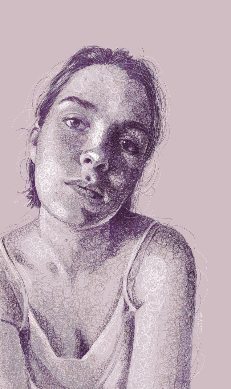 Sktchy Art By Jennifer Ackerman Sktchy Female Art Face Sketch