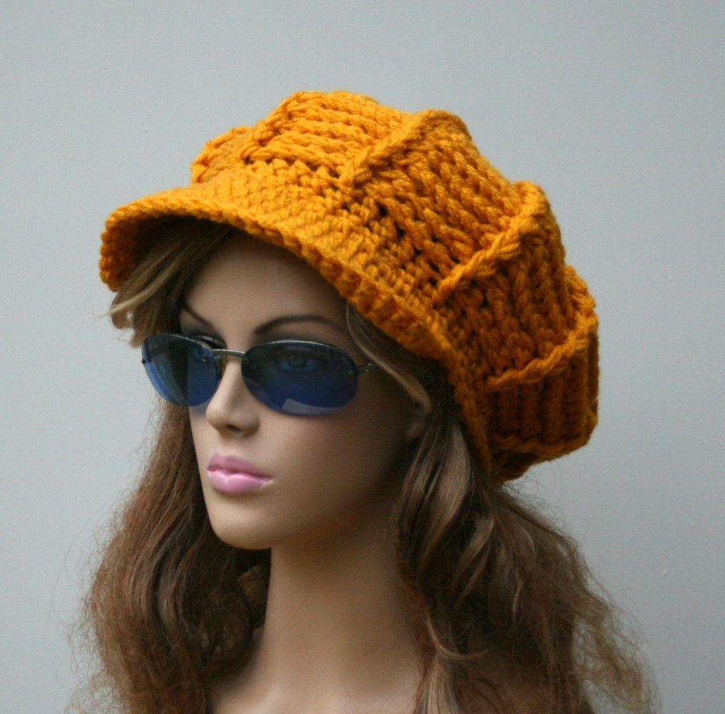 Hermosa Fáciles De Crochet Patrón Del Sombrero Del Vendedor De ...