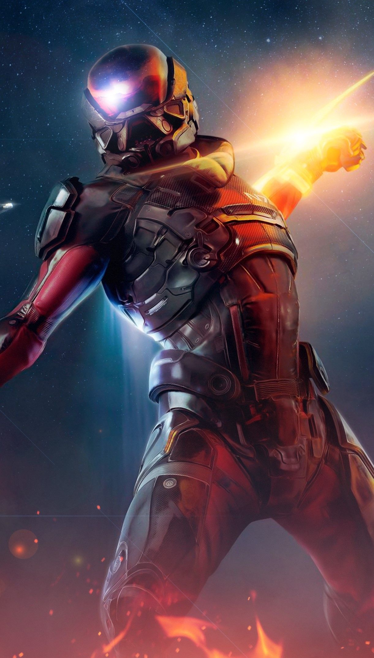 Mass Effect Andromeda Wallpaper Mass Effect Mass Effect Art Mass Effect Universe