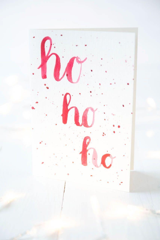 Photo of *1* DIY Aquarell-Weihnachtskarten | ars textura – DIY-Blog