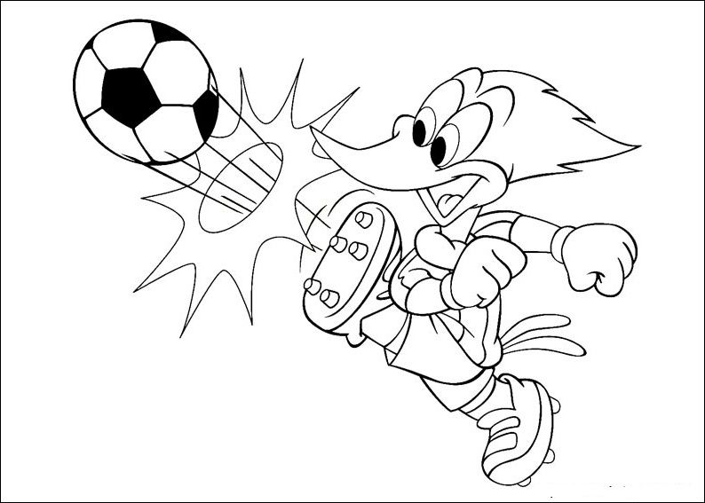 Woody Woodpecker Coloring Books