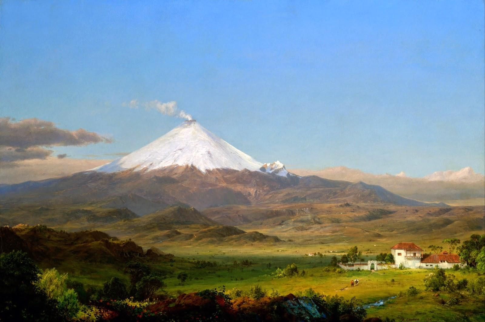 Frederic Edwin Church: paisaje colosal y exótico