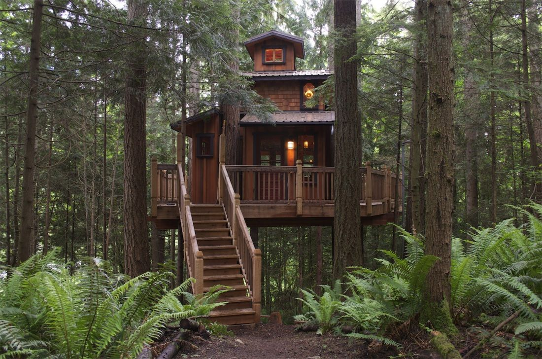 The Sanctuary Treehouse - Wild Tree Woodworks