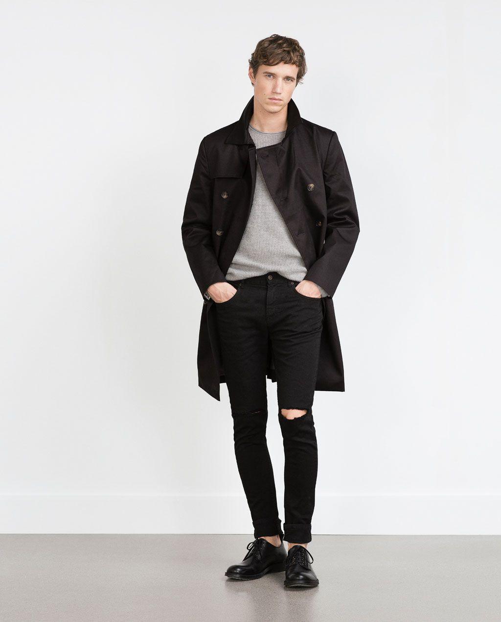 Men Rodilla Fashion En Aw15 Pantalón Zara Rotos Colección 2018 xS6wP4