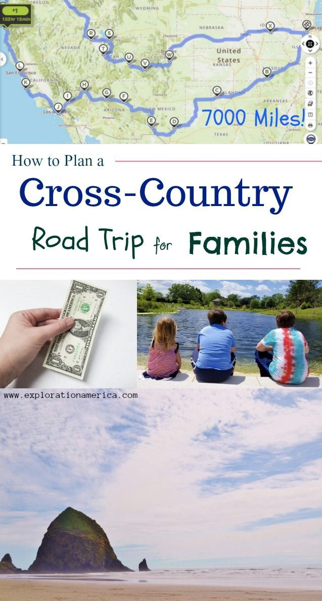 How to Plan a Cross-Country Road Trip for Families on a Budget