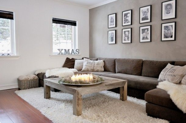 Beautiful living room idea for SiSSY chillin out couch time