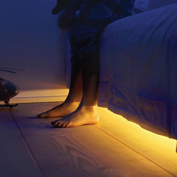 Bathroom Under Light under-bed-nightlight led with motion sensor | gift ideas
