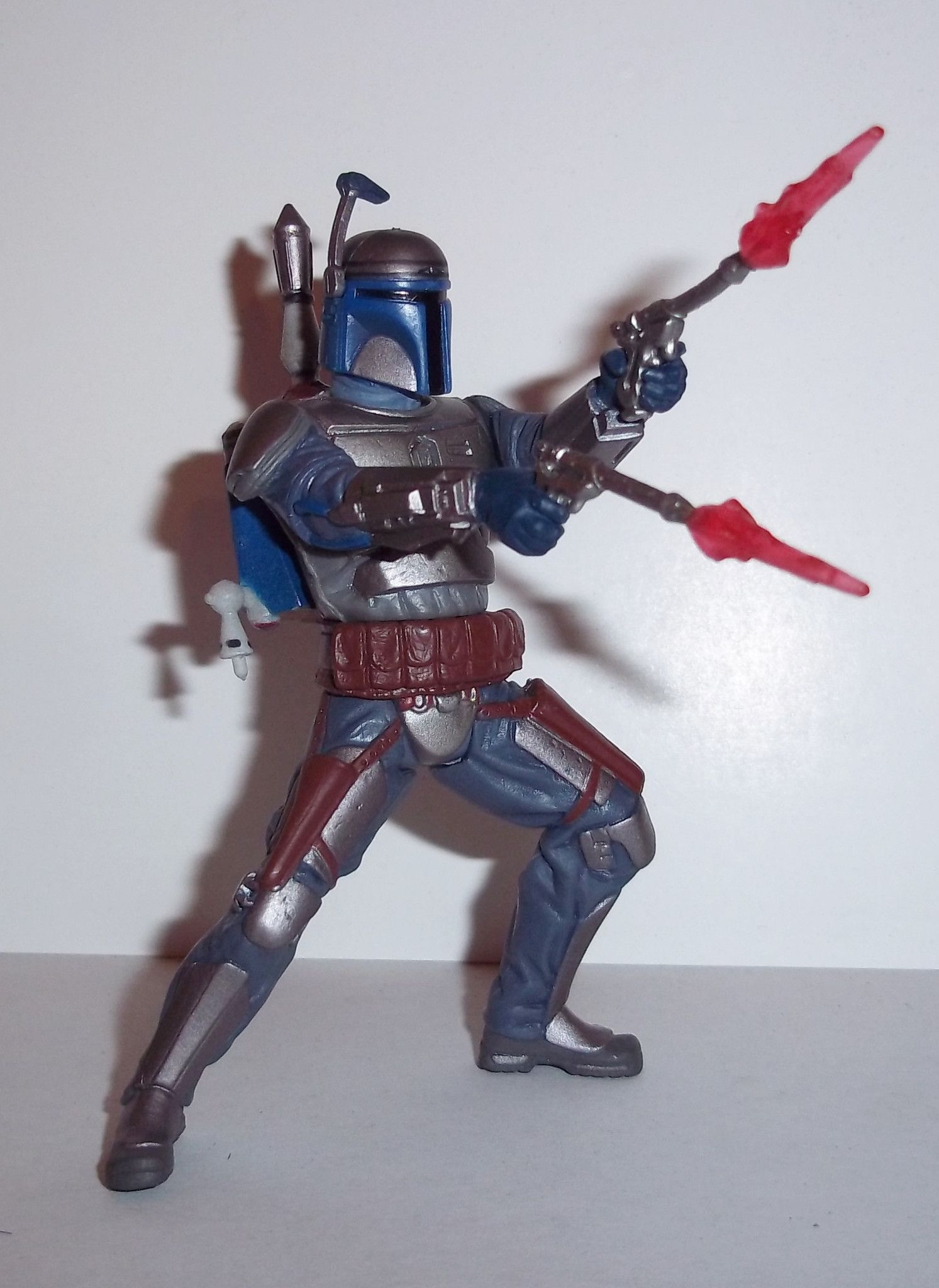 Star Wars Clone Wars Mandalorian Warrior Hasbro boba fett jango animated dark