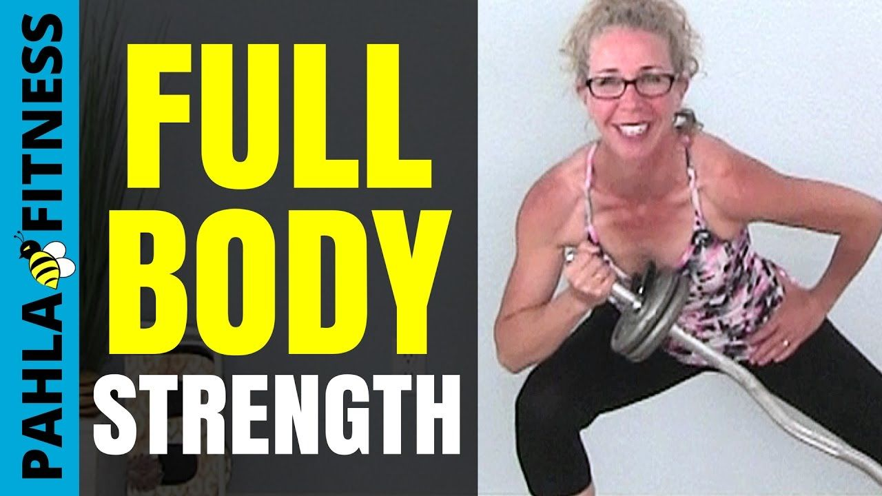 BARBELL STRENGTH   Morgan's 30 Minute Full Body WEIGHT TRAINING Workout