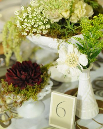 green wedding centerpieces table scape event decor wedding rh pinterest com