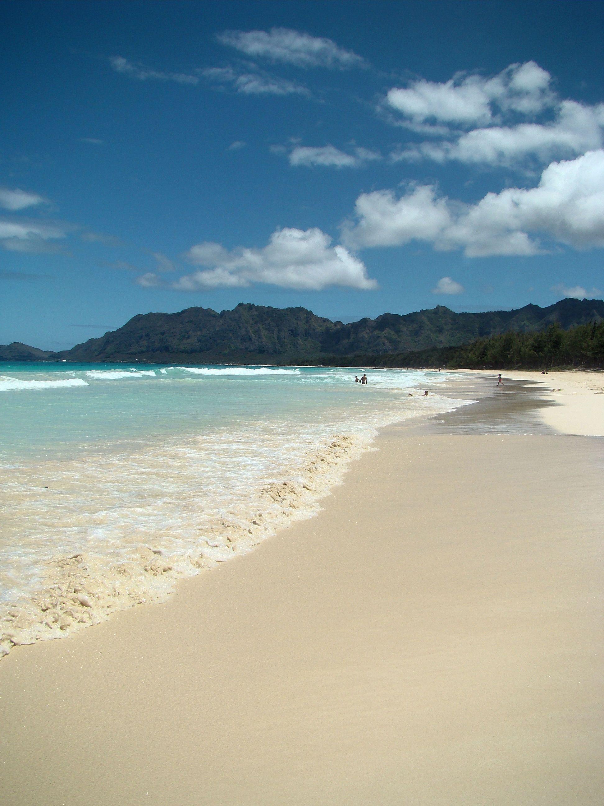 Bellows Beach Park, Hawaii