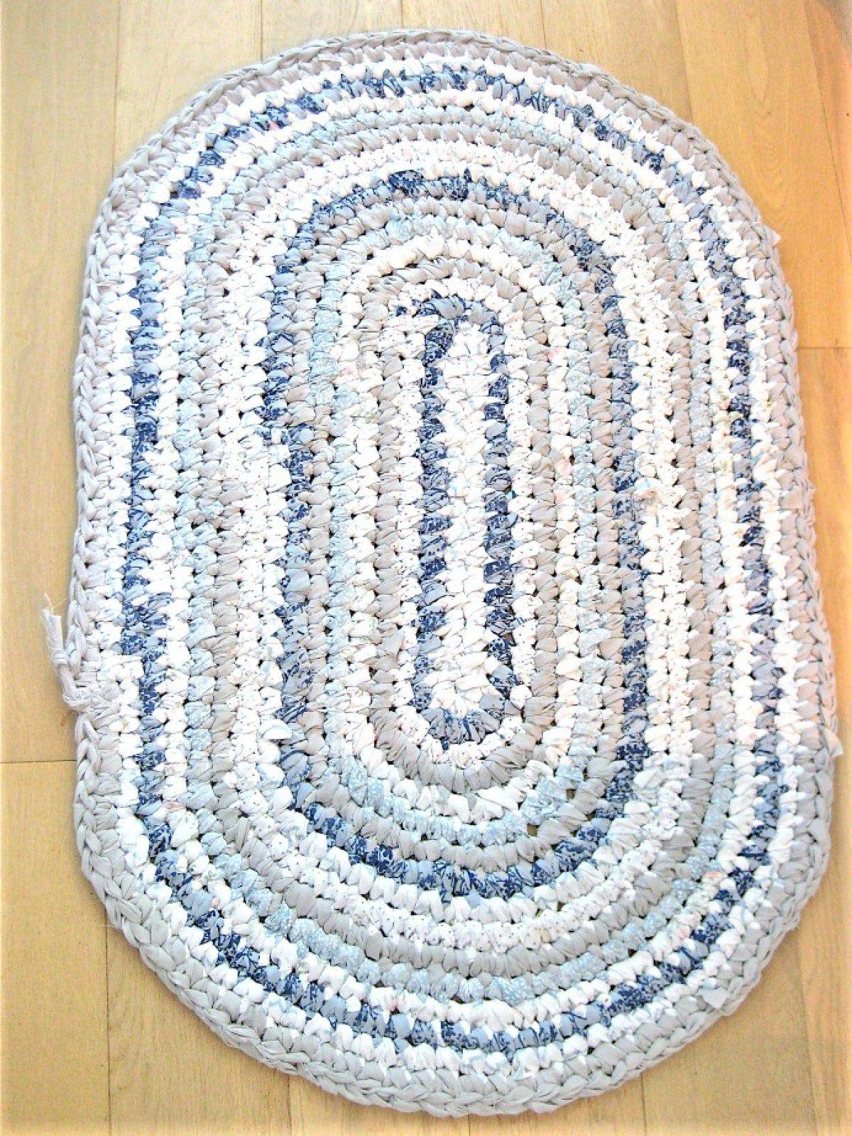 Kitchen Rag Rug | Rugs, Kitchen rug, Crochet kitchen