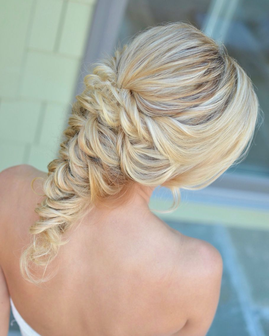 """bridal hair by chelsea sorrell robertson - """"i do"""" style"""