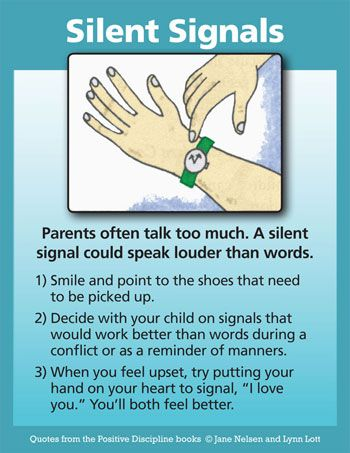 Photo of Parents often talk too much. A silent sign can be louder than loud words. …