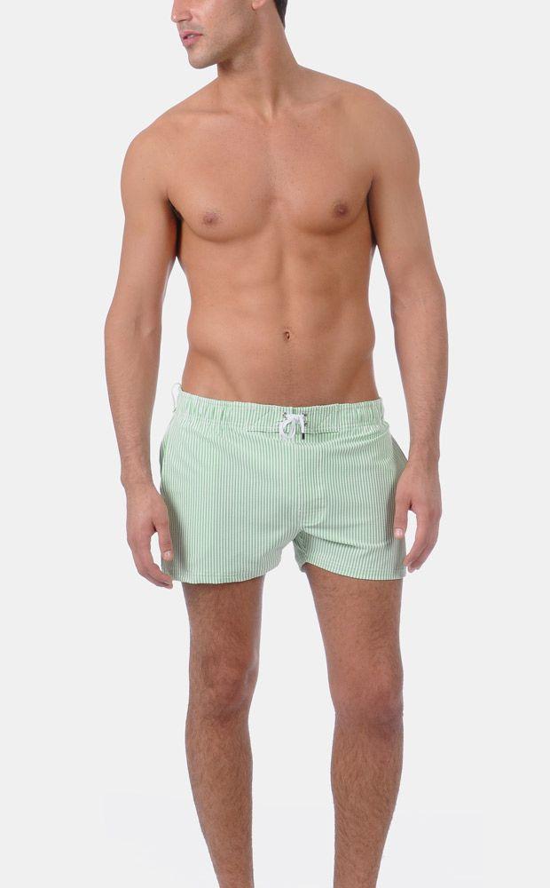 cc8d4478e0 2xist MEN'S SEERSUCKER IBIZA SWIM SHORT | Men's Underwear & Swim ...