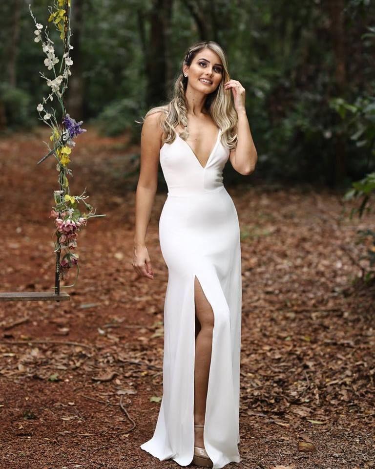 Vestido Noiva Pré Wedding Pré Casamento Casamento no Civil
