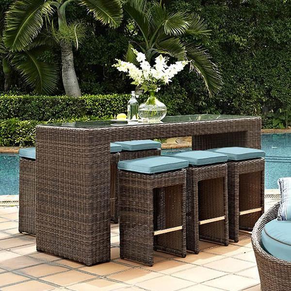 Luxury Patio Furniture Bar Set