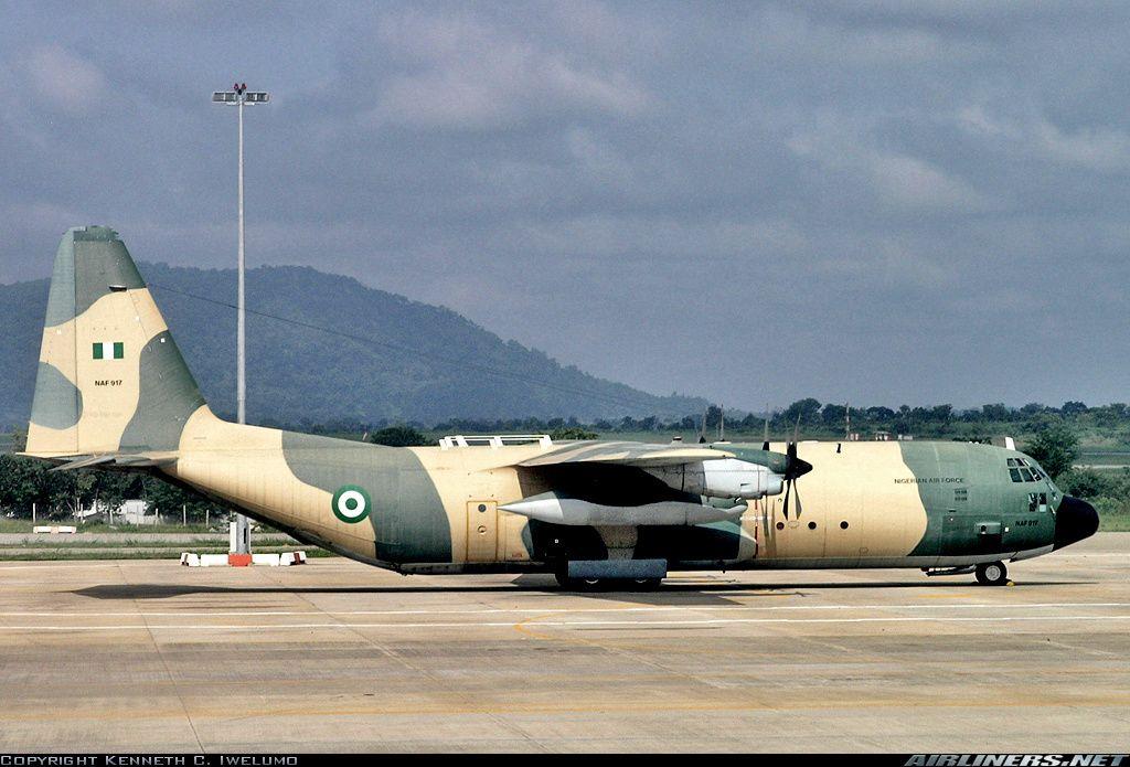 Nigeria Air Force Lockheed C130H30 Hercules (L382