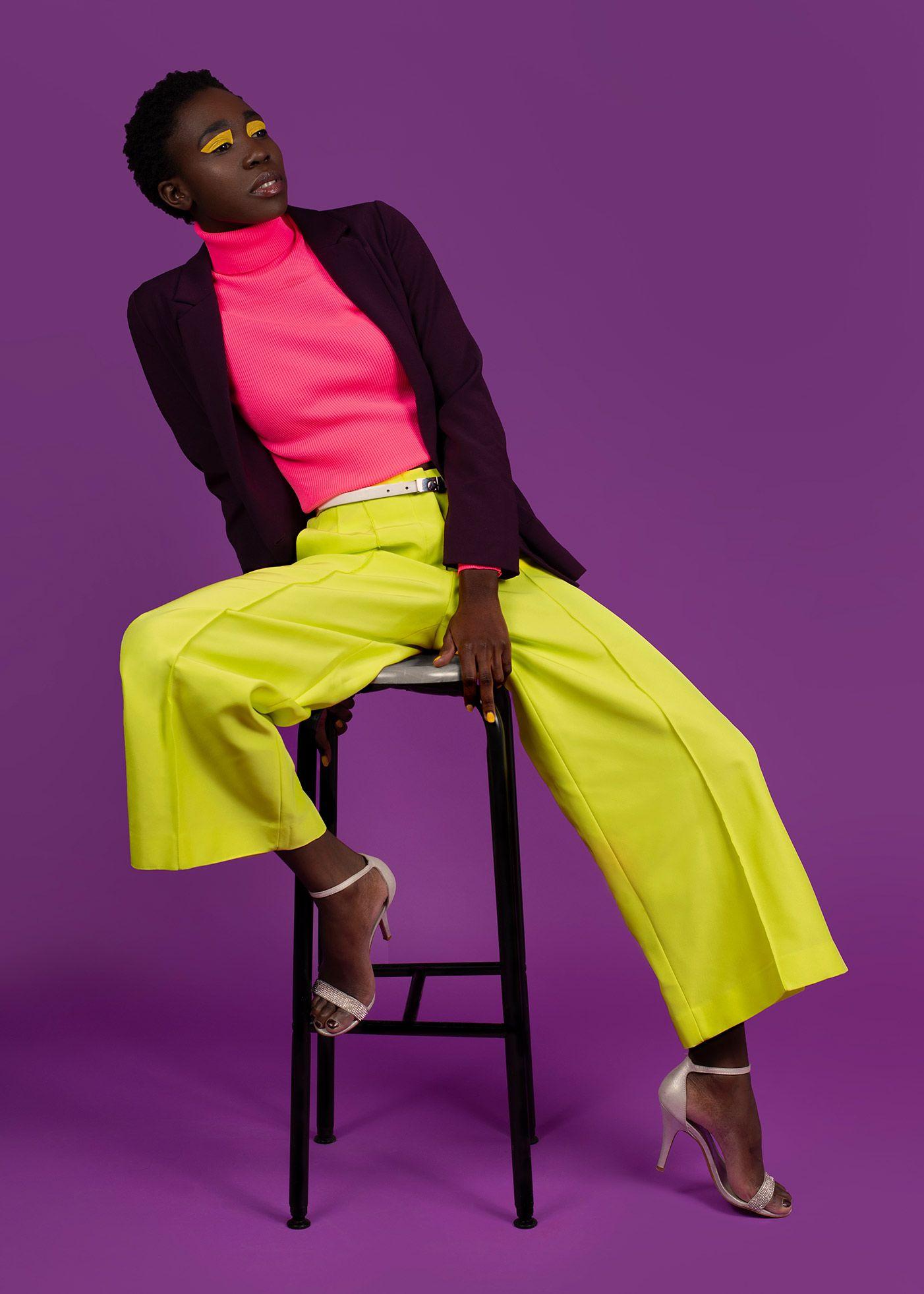 Colour Pop Fashion. Pippa Dawson Make-Up.