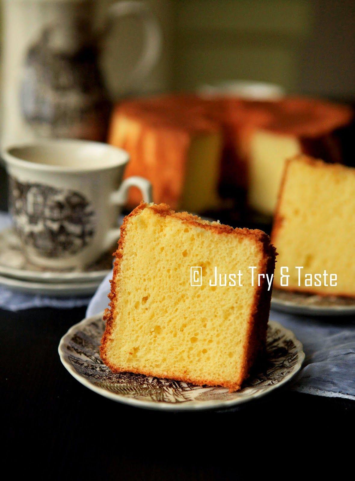 Cream Cheese Chiffon Cake Kue Lezat Kue Chiffon Memanggang Kue