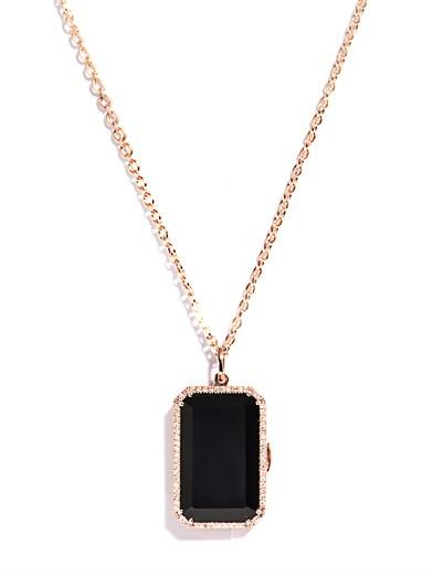Irene neuwirth diamond black onyx gold locket pendant the woman irene neuwirth diamond black onyx gold locket pendant aloadofball Images