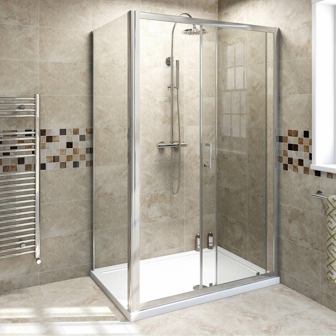 Bathroom Lights Victoria Plumb v6 sliding shower enclosure 1200 x 900 - victoria plumb