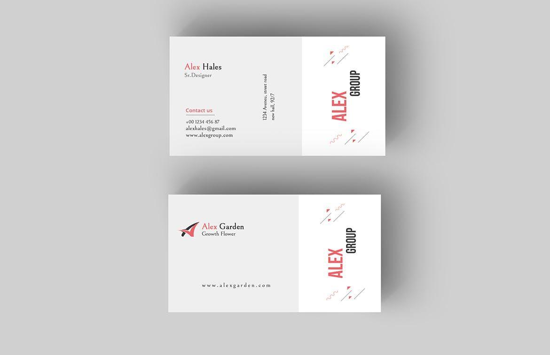 Business Card Template Psd Business Card Templates Pinterest