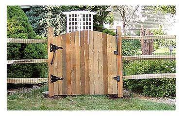 NJ PA Equine Fence - Post & Rail Wood Fencing   Wood fence ...