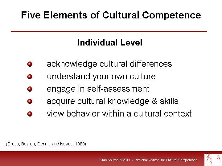 5 Elements Of Cultural Competence Cultural Competence Pinterest