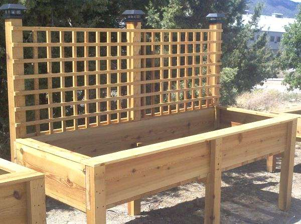 Amazing Raised Planter Boxes Plans  Best Ideas About Raised From Stand Up Garden Bed Amazing Raised Planter Boxes Plans  Best Ideas About Raised From
