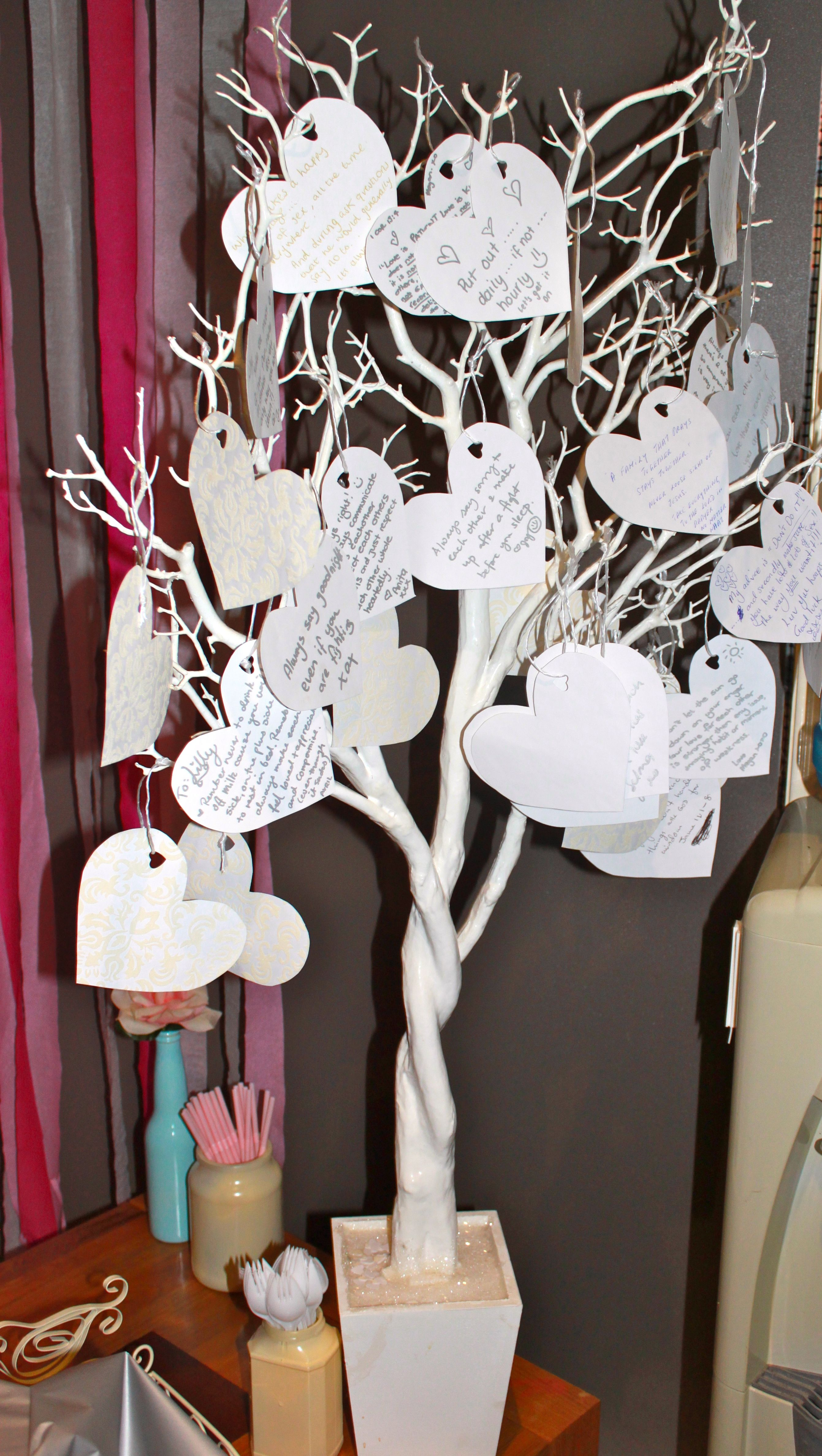 Special Message Tree Bridal Baby shower ideas in 2018