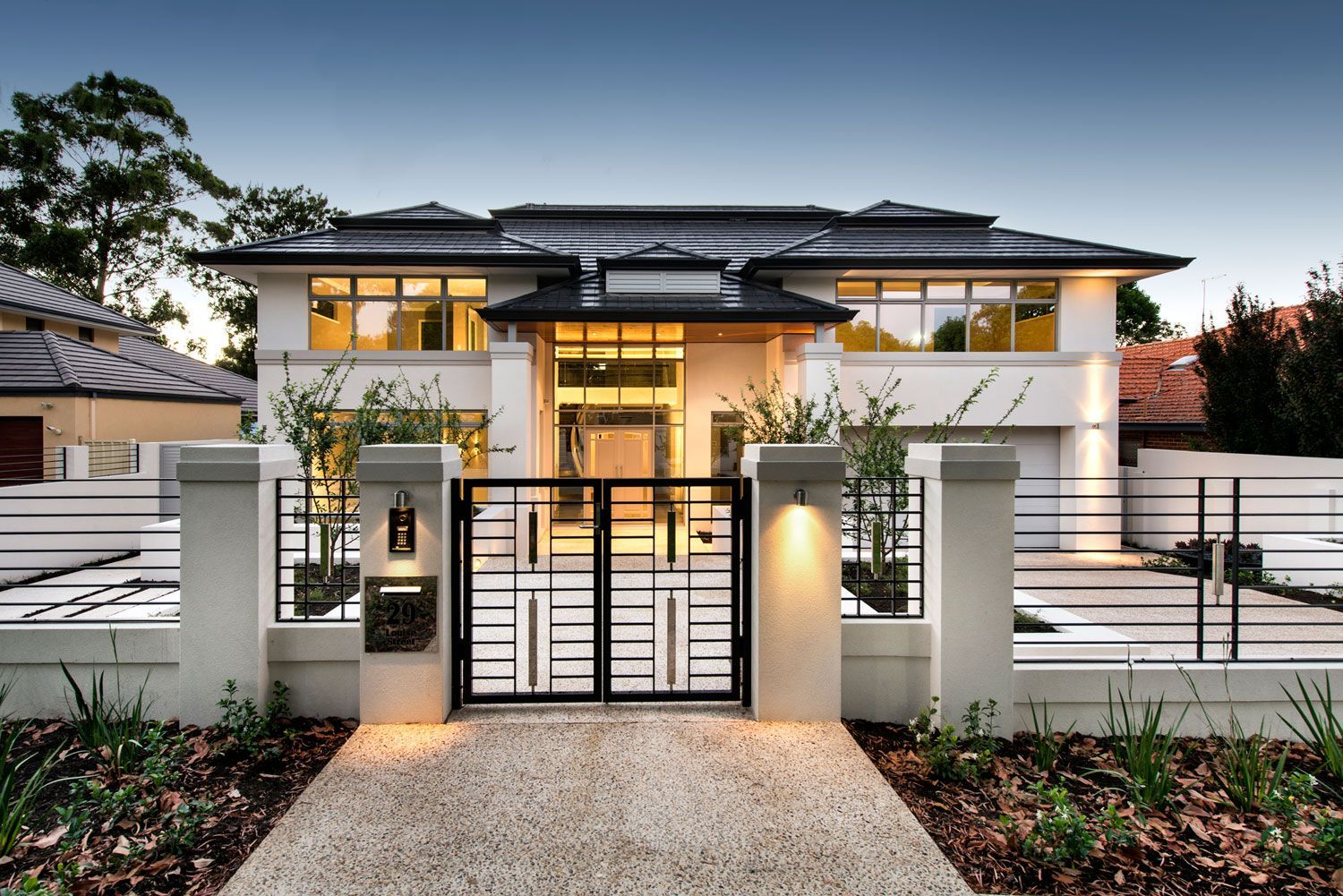 Home in perth by cambuild also best exterior images facades plans luxury homes rh pinterest
