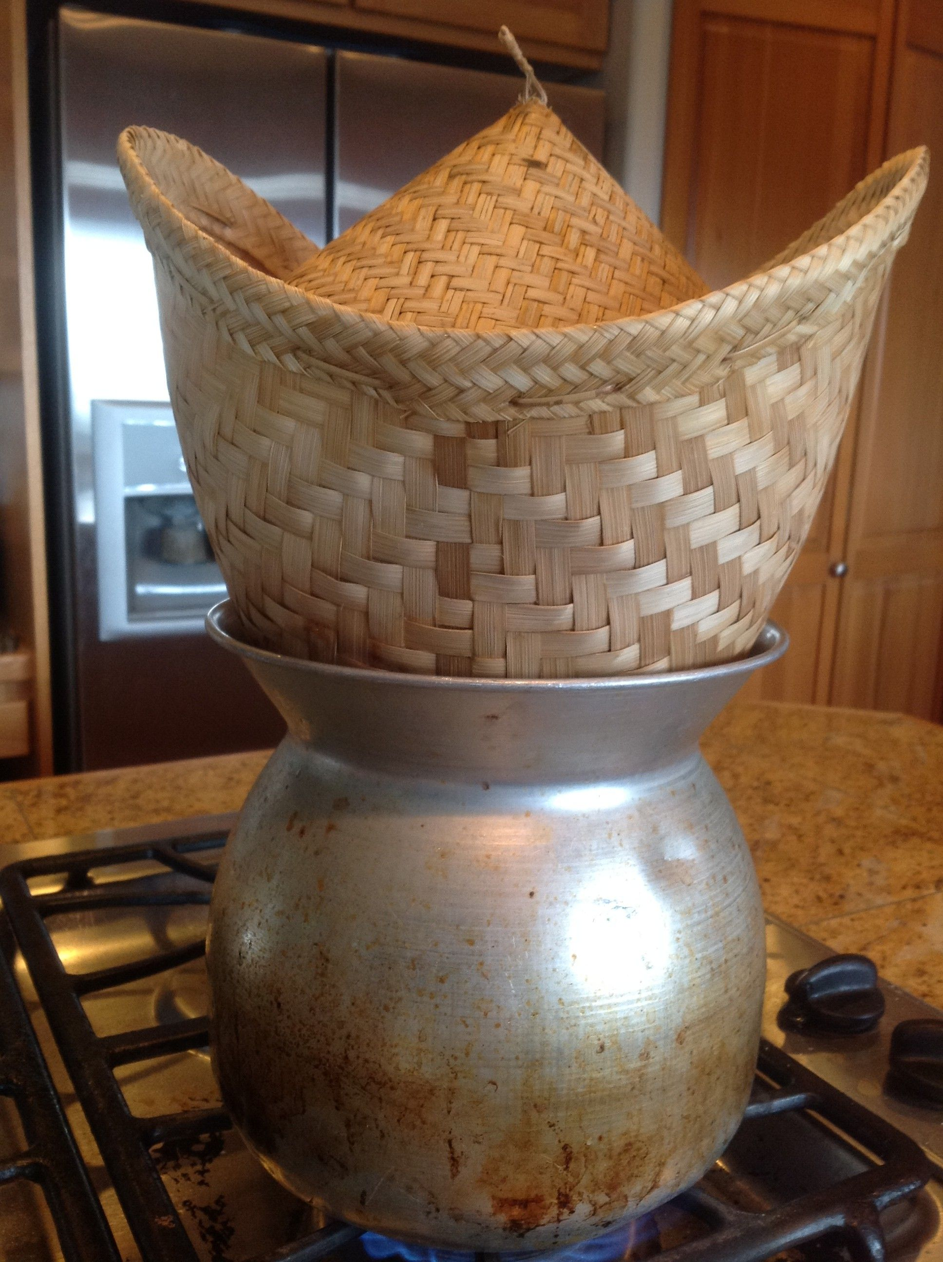 Dove Comprare Vaporiera Bamboo.Sticky Rice Steamer Basket Bamboo Rice Rice How To Cook Rice