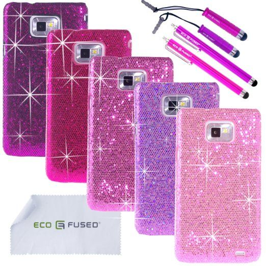 100% authentic ab3a2 a566b Amazon.com: ECO-FUSED® 10 pieces Bling Glitter Sparkle Hard Cover ...